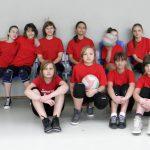 Drużyna siatkarek – 08-03-2012
