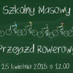 Zaproszenie na Szkolny Masowy Przejazd Rowerowy