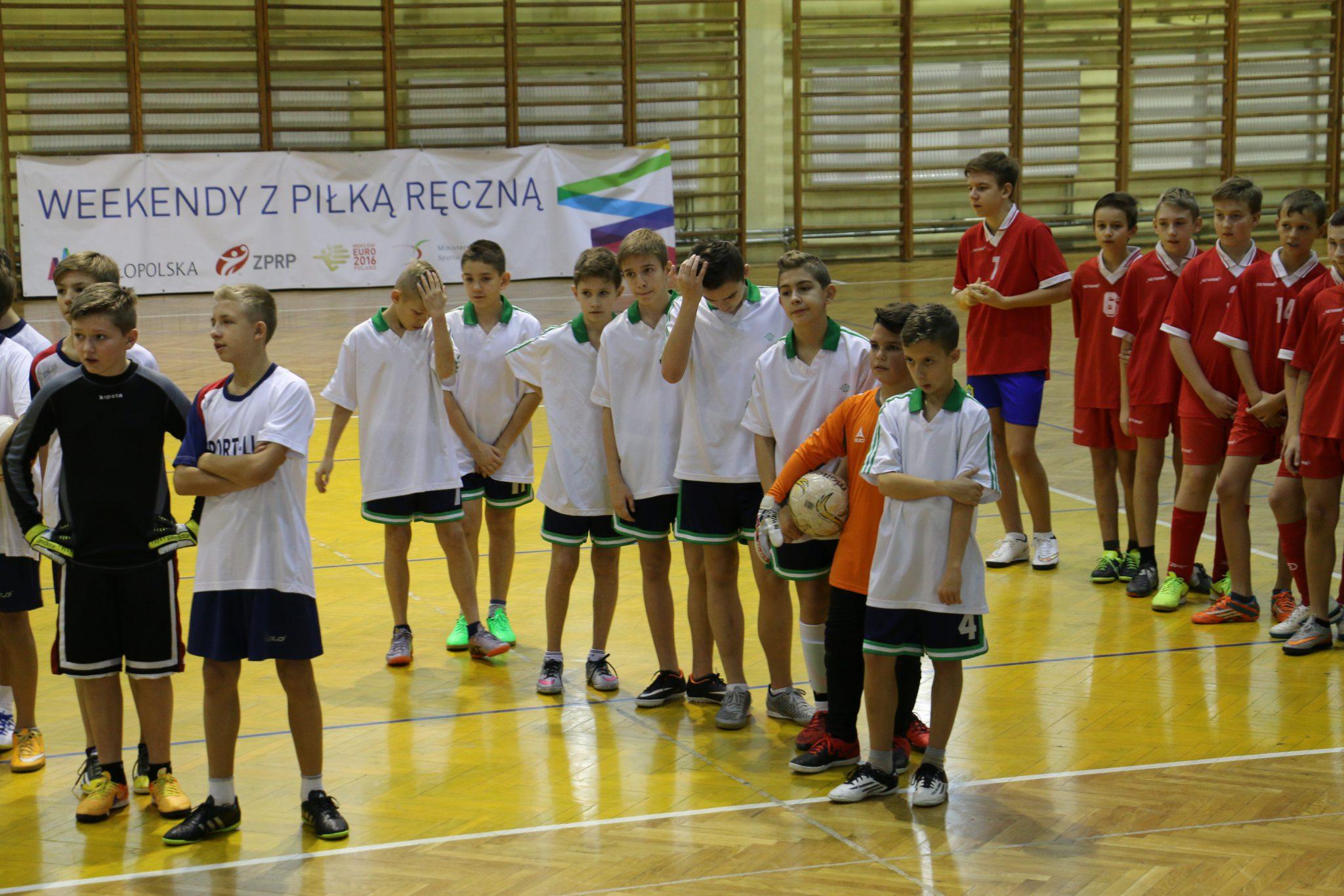 17-11-2015 – Mistrzostwa Małopolski w halowej piłce nożnej chłopców