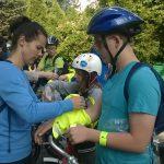17-06-2016 r. – Przejazd ścieżkami rowerowymi do Parku AWF