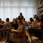 """24-11-2016 r. – warsztaty dla uczniów klasy 3a i 4a w oparciu o książkę Tadeusza Śliwiaka """"Krakowski szlak Bajkoteki"""""""