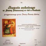 14-01-2017 r. – XVI edycja Wojewódzkiego Konkursu Kolęd i Pastorałek