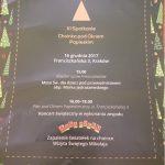 """16-12-2017 r. – Spotkanie """"Choinka pod Oknem Papieskim"""""""