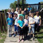 """07-06-2018 r. – Klasa II b – p. E. Bazan – Wycieczka do Centrum Aktywnego Wypoczynku """"Borek"""""""