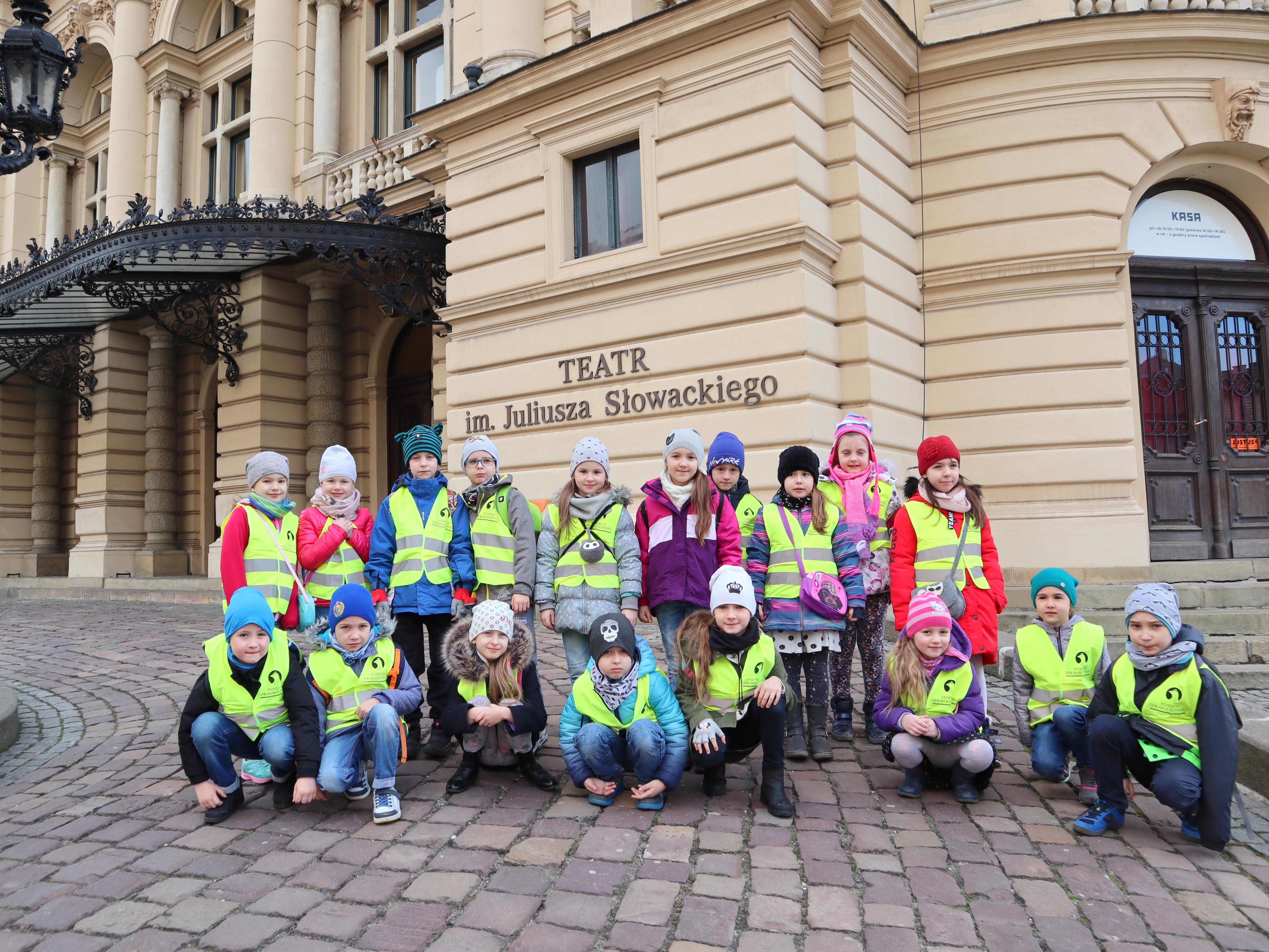 14-03-2019 r. – Klasa 1 a – p. T. Kucala – Wyjście do Teatru Słowackiego
