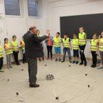 28-05-2019 r.- klasa 2 a – p. H. Celewska – wycieczka do Laboratorium Inżynierii Wiatrowej Politechniki Krakowskiej