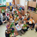 22-10-2019 r. – Klasa 1 b – p. E. Bazan – Jesienne prace plastyczne