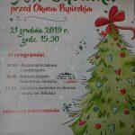 21-12-2019 r. – XIII Choinka pod Oknem Papieskim
