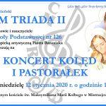 12-01-2020 r. – Koncert kolęd i pastorałek