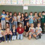 """Klasa 2 b – p. E. Bazan – Udział w Programie Uniwersytetu Dzieci: """"Matematyka – kto w pracy liczy, mierzy i waży?"""""""
