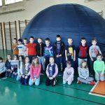 22-02-2021 r. – Uczniowie klas I-III w mobilnym planetarium.