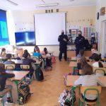 10-03-2021 r. – Spotkanie uczniów klas I z policjantami
