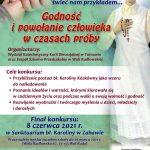 Ogólnopolski Konkurs Poetycko-Plastyczny o bł. Karolinie.