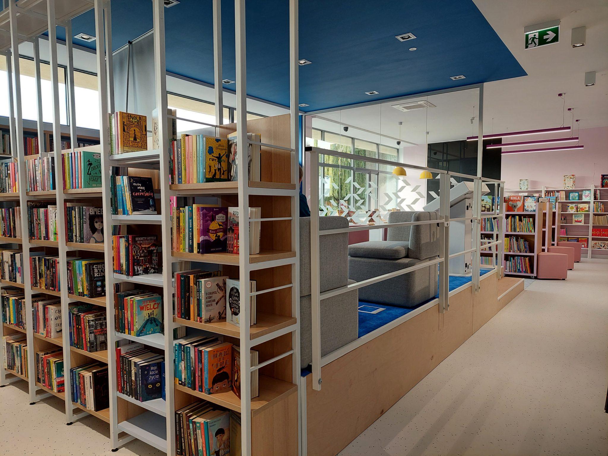 14-10-2021 r. – Otwarcie Filii 48 Biblioteki os. Bohaterów Września